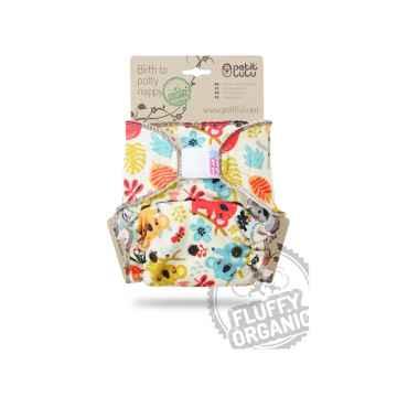 Petit Lulu Birth to potty nappy hravé koaly kalhotková plena 1 ks