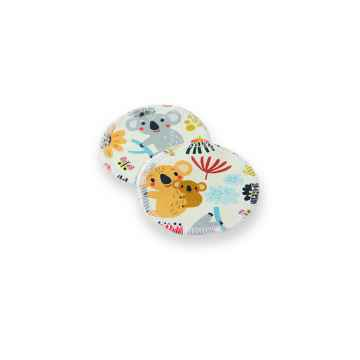 Petit Lulu Odličovací tampóny hravé koaly 2 ks