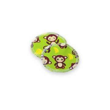 Petit Lulu Odličovací tampóny 2 ks, Monkey business