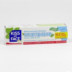 Kiss My Face Corp. Zubní gel Whitening, s fluoridem 127,6 g