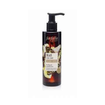 Farfalla Ingwer, Volumen-Shampoo, šampon na objem s vůní zázvoru 200ml
