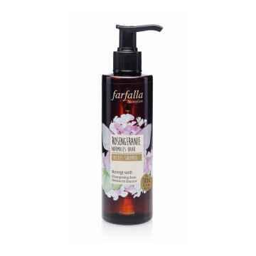 Farfalla Rosengeranie, Mildes Shampoo, jemný šampon s vůní pelargonie 200 ml