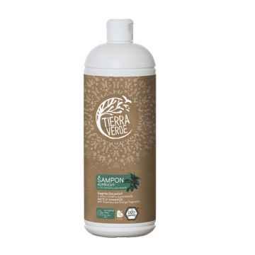 Tierra Verde Šampon kopřivový s vůní rozmarýnu a pomeranče 1 l