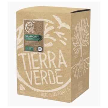 Tierra Verde Šampon kopřivový s vůní rozmarýnu a pomeranče 5 l