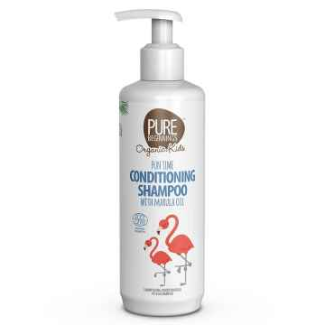 PURE BEGINNINGS Dětský šampon s kondicionérem s marulovým olejem BIO 250 ml
