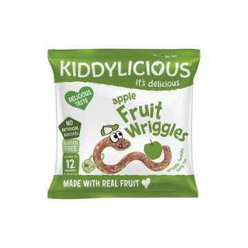 KIDDYLICIOUS Fruit Wriggles žížalky jablečné 12 g