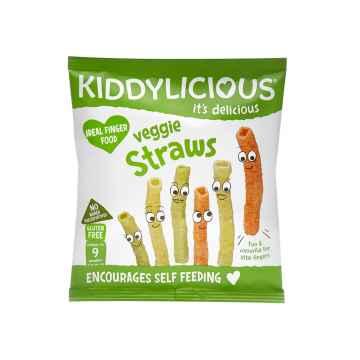 KIDDYLICIOUS Veggie Straws tyčinky zeleninové 12 g