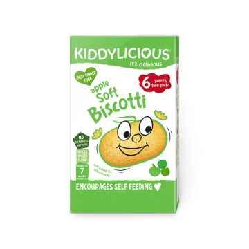 KIDDYLICIOUS Soft Biscotti apple sušenky měkké jablečné 20 g