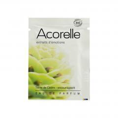 Acorelle Parfémová voda Cedrová země 3 ml, vonný kapesník