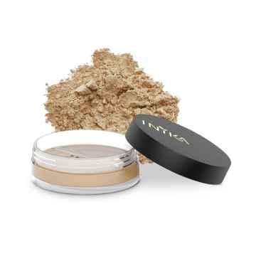 Inika Organic Přírodní sypký minerální pudrový make-up s SPF 25, Trust 8 g