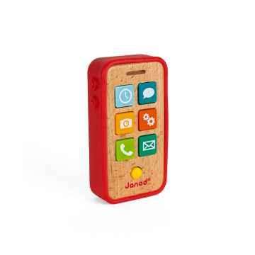 Dětský dřevěný mobil se zvuky od 1 roku 1 ks
