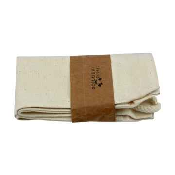 Tierra Organica Plátěný sáček z biobavlny s poutkem – na bůhvíco 27 × 18 × 13 cm