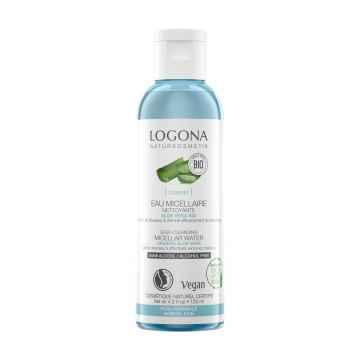Logona Deep cleansing micellar water organic aloe vera, hloubkově čisticí micelární voda bio aloe vera 125 ml
