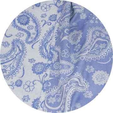Fidella Šátek, Persian Paisley 1 ks, Royal Blue