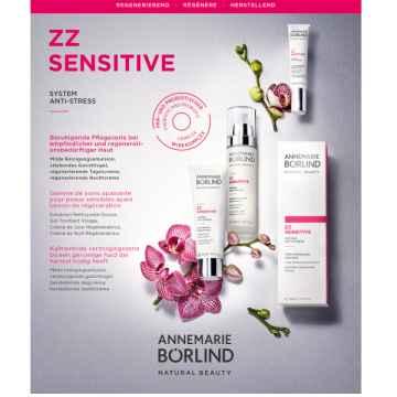 Annemarie Börlind Sada vzorků ZZ sensitive pro citlivou zralou pleť 4 x 2 ml