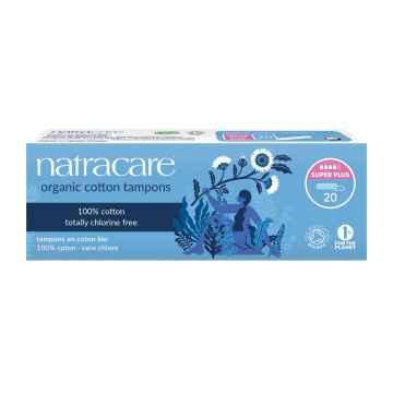 Natracare Tampóny Super Plus 20 ks