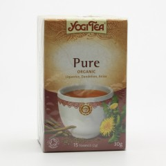 Golden Temple Čaj Yogitea Pure, Detox 17 ks, 30 g