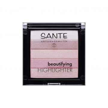 SANTE Rozjasňovač Beautifying 02, rose 7 g