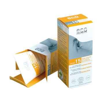 Eco Cosmetics Ochranný sluneční krém SPF 15 75 ml