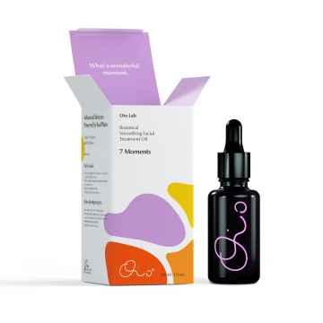 Oio Lab 7 Moments, vyživující olej na vrásky s kurkumou a opunciovým olejem 30 ml