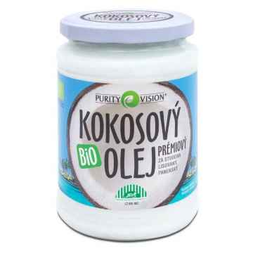 Purity Vision Kokosový olej, bio 600 ml