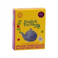 English Tea Shop Rooibos, granátové jablko a černý rybíz, bio 2 g, 1 ks