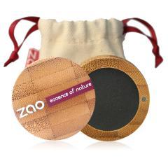 ZAO Matné oční stíny 206 Black 3 g bambusový obal