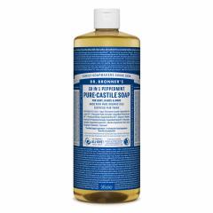 Dr. Bronner's Tekuté universální mýdlo ALL-ONE!, Peppermint 945 ml