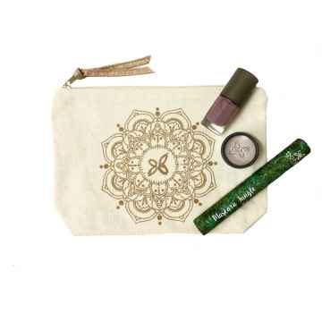 Boho Green Make-Up Dárkový set v make-up taštičce 1 ks