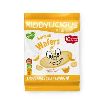 KIDDYLICIOUS Maxi banánové oplatky 40 g