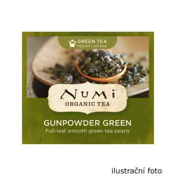 Numi Organic Tea Zelený čaj Gunpowder Green 200 g, 100 ks