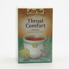 Golden Temple Čaj Yogitea Throat Comfort 17 ks, 30 g