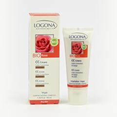 Logona CC krém 03 béžová, Bio Růže 40 ml