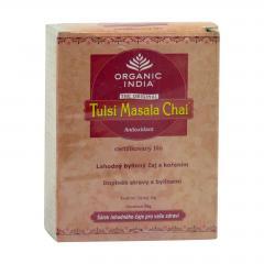 Organic India Čaj Tulsi Chai Masala, sypaný, bio 50 g