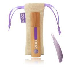 ZAO Lak na rty 034 Pearly Dark Purple 5 ml bambusový obal
