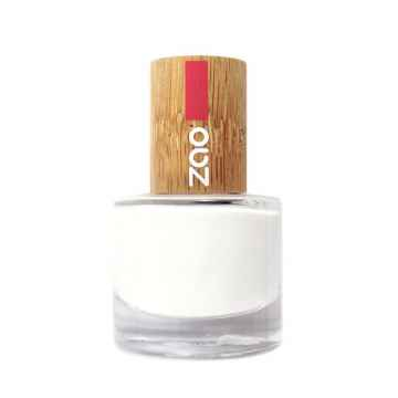 ZAO Lak na nehty francouzský 641 White 8 ml