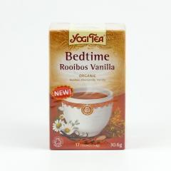 Golden Temple Čaj Yogitea Bedtime Rooibos Vanilla 17 ks, 30,6 g