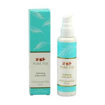 Pure Fiji Hydratační tělové mléko, zázvor 90 ml