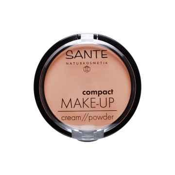 SANTE Kompaktní make-up 01, vanilková 9 g