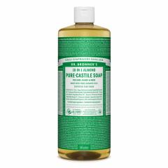 Dr. Bronner´s Tekuté universální mýdlo ALL-ONE!, Almond 946 ml