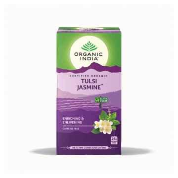 Organic India Čaj Tulsi Jasmine, porcovaný, bio 30,6 g, 25 ks