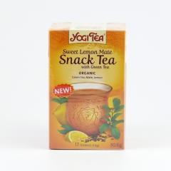 Golden Temple Čaj Yogitea Sweet Lemom Mate, Snack tea 17 ks, 30,6 g