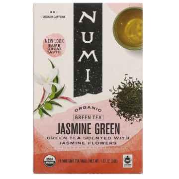 Numi Organic Tea Jasmine Green, zelený čaj ochucený 36 g, 18 ks