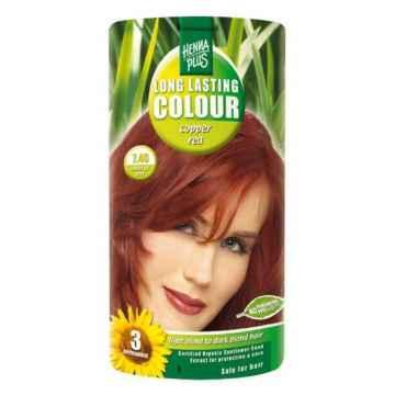 Henna Plus Dlouhotrvající barva Měděně červená 7.46 100 ml