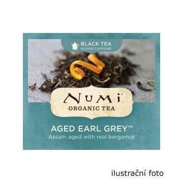 Numi Organic Tea Aged Earl Grey, černý čaj 220 g, 100 ks