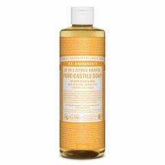 Dr. Bronner´s Tekuté universální mýdlo ALL-ONE!, Citrus-Orange 473 ml