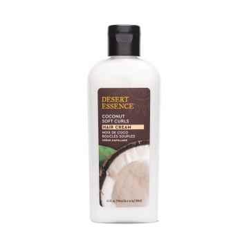 Desert Essence Stylingový kokosový krém pro kudrnaté vlasy 190 ml