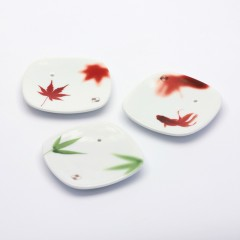 Yume-no-Yume Stojánek na japonské vonné tyčinky Maple Leaf 1 ks