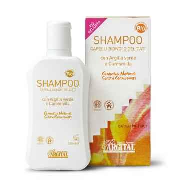Argital Šampon rozjasňující na blond a jemné vlasy s heřmánkem 250 ml