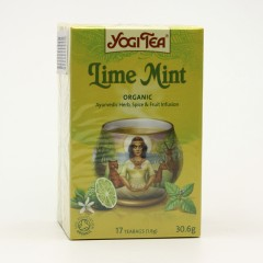 Golden Temple Čaj Yogitea Lime Mint 17 ks, 30 g